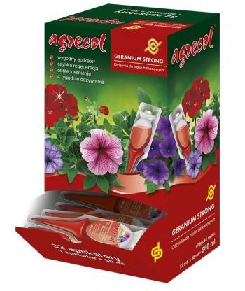 Odżywka do roślin balkonowych Geranium Strong 32x30 ml Agrecol