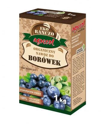 Organiczny nawóz do truskawek 1kg AGRECOL