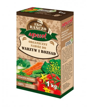 Organiczny nawóz do pomidorów 1kg AGRECOL
