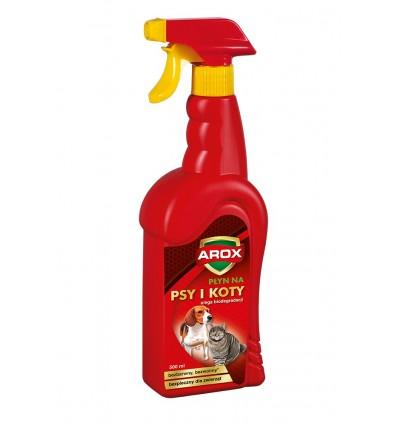 Płynnny preparat na psy i koty 500ml AROX