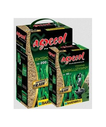 Nasiona traw EXCLUSIVE 5kg AGRECOL