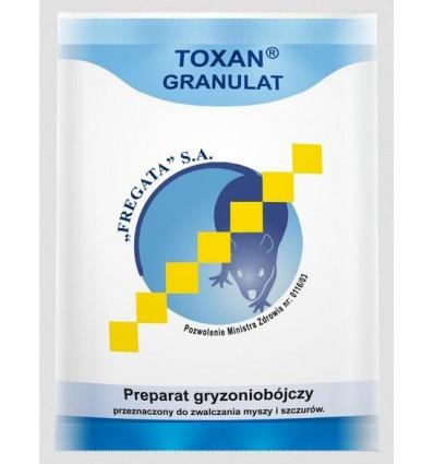 Granulat na myszy i szczury 200g TOXAN