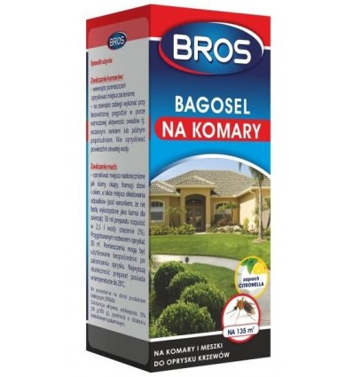 Bagosel 100EC na komary 250ml BROS