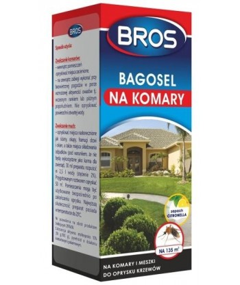 Bagosel 100EC na komary 50ml BROS