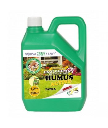 Ekologiczny płynny nawóz do trawników 1,2L HUMUS ACTIVE