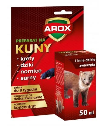 Płyn (koncentrat) na kuny i inne zwierzęta 50 ml AROX