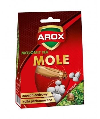 Kulki na mole odzieżowe – cedrowe AROX