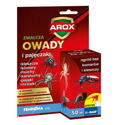 FENDONA 6 SC preparat na muchy i komary w ogrodzie 50ml AROX