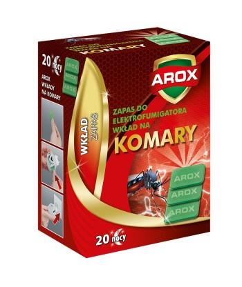 Wkłady zapasowe do elektrofumigatora na komary AROX