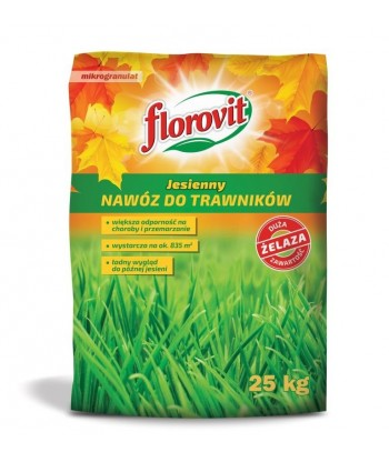 Florovit 25kg jesienny do trawników