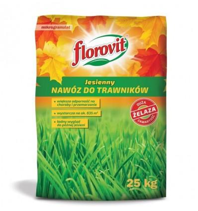 Florovit nawóz do trawników JESIENNY 25kg