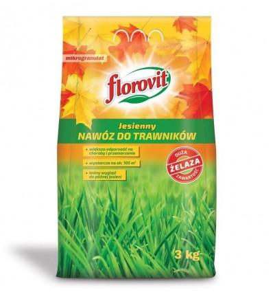Florovit nawóz do trawników JESIENNY 3kg