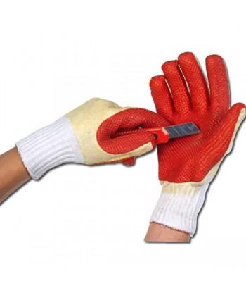 Rękawice ochronne z gumą R412 rozm. 10 PARA