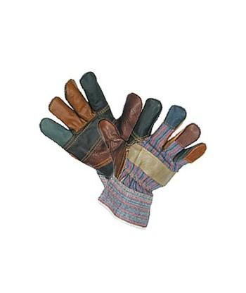 Rękawice ocieplane wzmacnine skórą R213B PARA