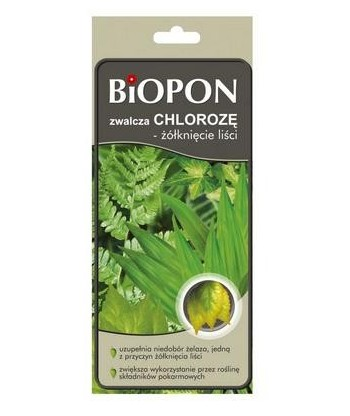 Zwalcza chlorozę przeciw chlorozie BIOPON