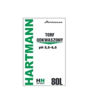 Torf odkwaszony pH 5,5-6,5 80L Hartmann