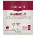 Klarowin 10g do klarowania win różowych i białych BIOWIN