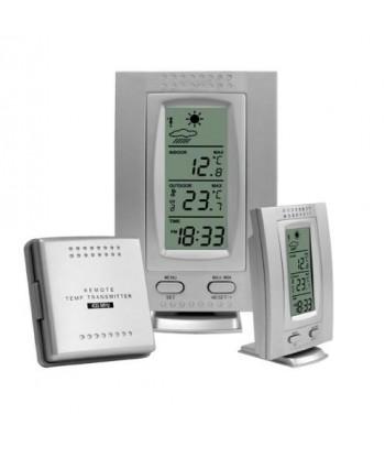Stacja pogody termometr wew./zew.+zegar BIOTERM