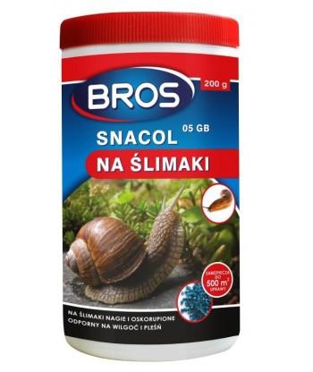 Snacol 05 GB zwalcza ślimaki 200g BROS