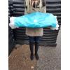 Siatka do pakowania choinek biała 45x300m