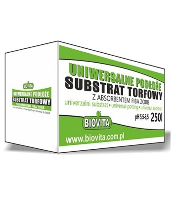 Substrat torfowy z absorbentem 0-20mm pH 5,5-6,5 PALETA BIOVITA