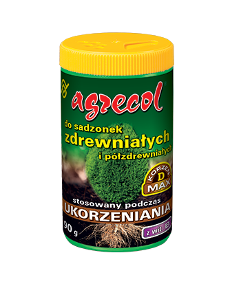 Ukorzeniający nawóz do sadzonek półzdrewniałych i zdrewniałych 90g Agrecol
