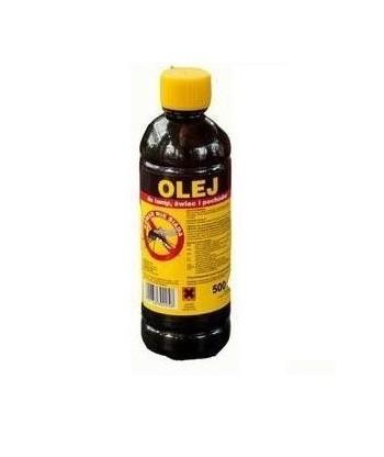 Olej parafinowy do lamp, świec i pochodni przeciw komarom 1L