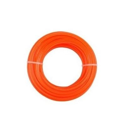 Żyłka tnąca 1.3mm okrągła, gwiazdka 15m