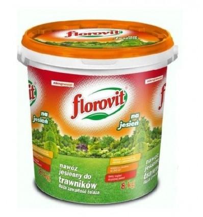 Florovit nawóz do trawników JESIENNY wiadro 8kg