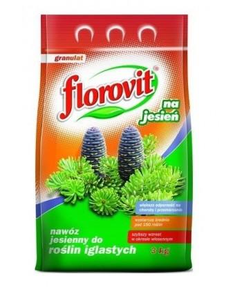 Florovit 3kg jesienny iglak