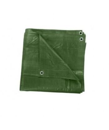 Plandeka zielona 10x12m GRUBA (130g)