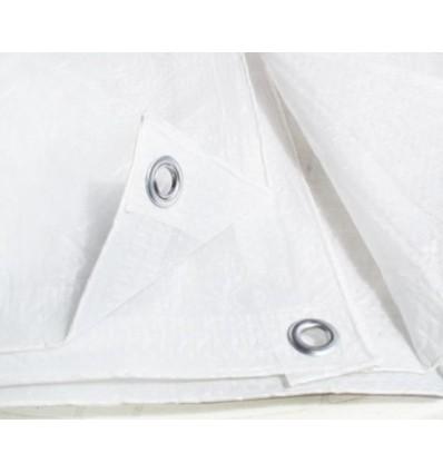 Plandeka biała 6x12m (75g)