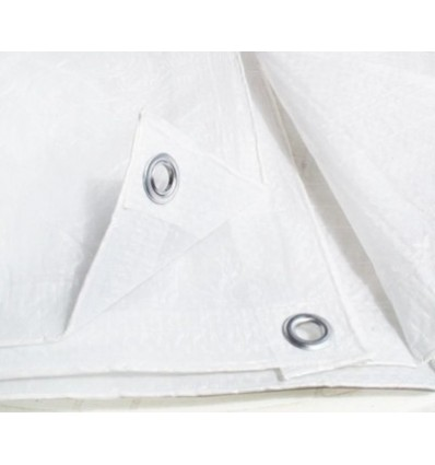 Plandeka biała 1,5x6m (75g)