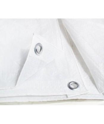 Plandeka biała 4x6m (75g)