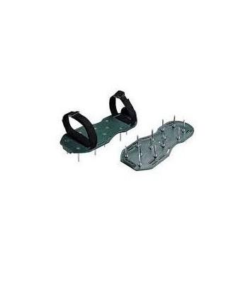 Aerator sandałowy ( buty z kolcami ) do napowietrzania trawnika