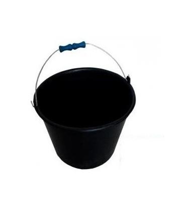 Wiadro plastikowe czarne 14L