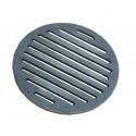 Ruszt piecowy okrągły żeliwny fi245