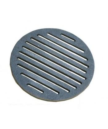 Ruszt piecowy okrągły żeliwny fi190