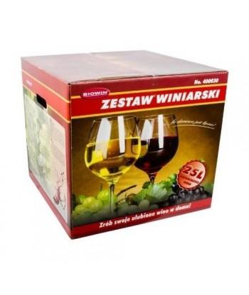 Zestaw winiarski domowe wino 25L BROWIN