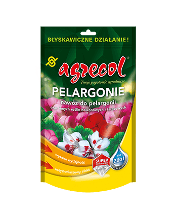 Pelargonia nawóz do pelargonii 200g Agrecol