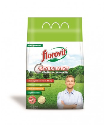 Florovit do trawników Szybki Efekt 1kg