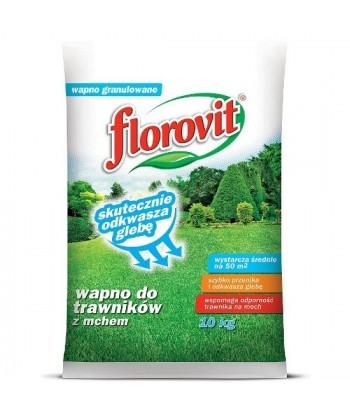 Florovit wapno do trawnika z mchem 10kg