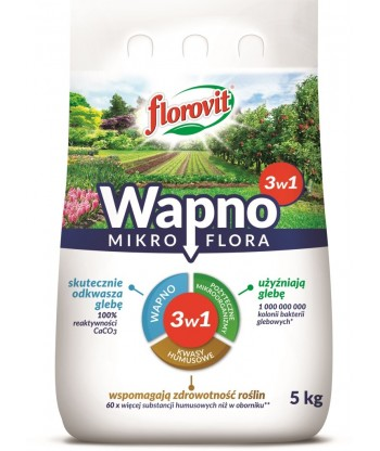 Florovit wapno mikroflora 3w1 5kg
