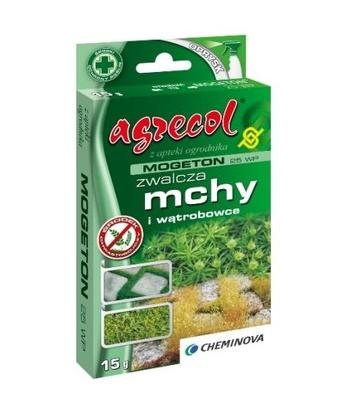 Mogeton 25WP 15g Agrecol na Mech Glony Wątrobowce