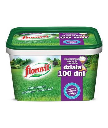 Florovit długodziałający do trawników 100 dni 4kg