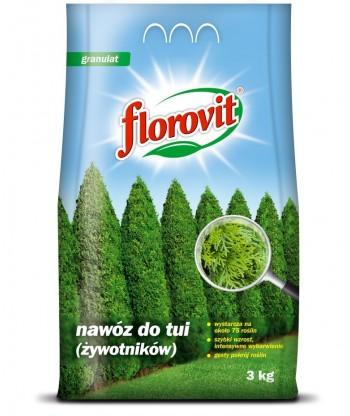 Nawóz do tui, żywotników 1kg Florovit