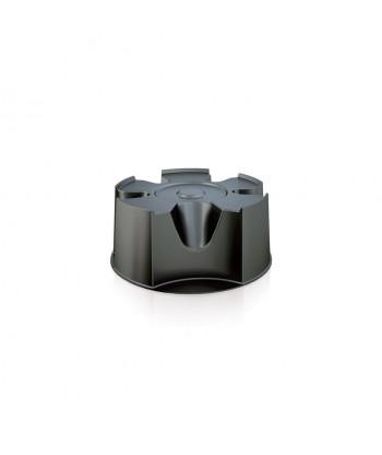 Podstawka do pojemnika na deszczówkę WOODCAN czarna PROSPERPLAST IBAS-S411