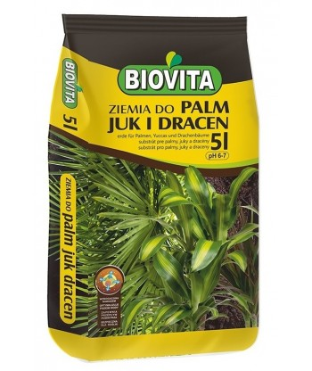 Ziemia do palm, juk i dracen BIOVITA 5L