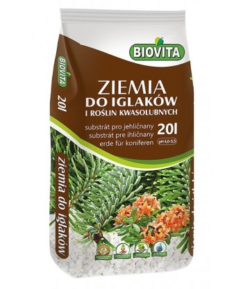 Ziemia do iglaków i roślin kwasolubnych 20L