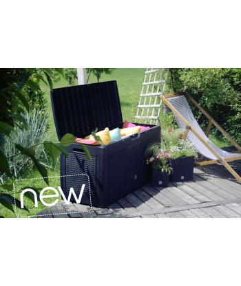 Skrzynia ogrodowa pudełko ogrodowe BOXE Rato - antracyt
